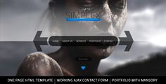 Simplex - One Page HTML Template