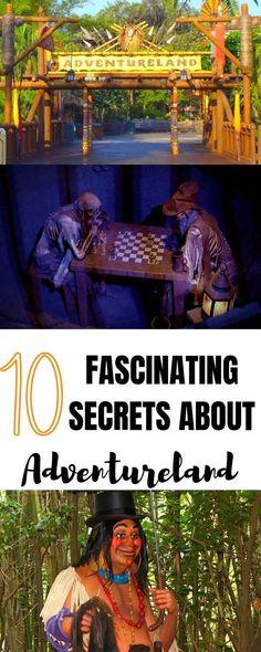 10 fascinating secrets about Adventureland at WDW! Disney World Packing, Walt Disney World Vacations, Disney Parks, Disney Travel, Disney World Tips And Tricks, Disney Tips, Disney Secrets, Disney Fun, Disney Magic