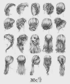 El arte de Arantxa: Como dibujar cabellos