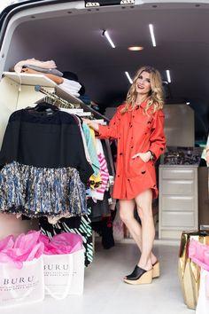 Balancing Fashion and Motherhood with BURU's Morgan Hutchinson #theeverygirl