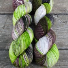 Uberraschung - Yummy 3-Ply - Babette | Miss Babs Hand-Dyed Yarns & Fibers, Inc.