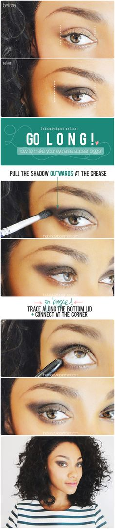 Make your eye area appear bigger!