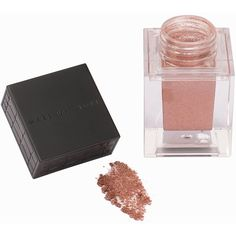 Make Up Store Eyedust (£16) ❤ liked on Polyvore featuring beauty products, makeup, beauty, copper, womens-fashion, evening makeup, water proof makeup, holiday makeup, make up store and waterproof makeup