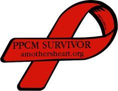 Custom Ribbon: PPCM SURVIVOR / amothersheart.org