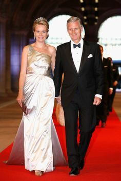 Belgium's Royal couple, Crown Prince Phillippe and Crown Princess Mathilde 04.13