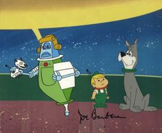 Jetsons Elroy and Astro | the jetsons elroy astro rosie opc elroy astro rosie opc
