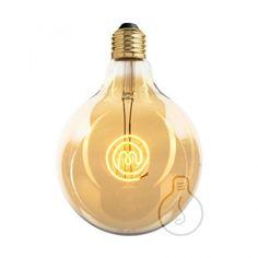 Zlaté LED tvoria LED žiarovky so zlatistým efektom skla. Masterchef, Wine Decanter, Light Bulb, Barware, Led, Retro, Lighting, Home Decor, Decorative Lighting