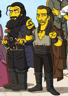"Edward Teach and Charles Vane ""Simpsonized"" Black Sails Black Sails Starz, Charles Vane, Ray Stevenson, Serie Tv, Treasure Island, Girl Problems, Films, Movies, Pirates Of The Caribbean"
