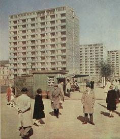Bloki przy obecnej al. Solidarności, Warszawa (1961)