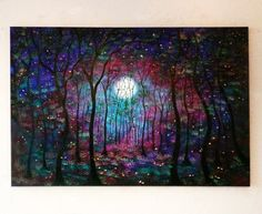 New in Stock Large original  painting  modern by jeanvadalsmith, Love it!