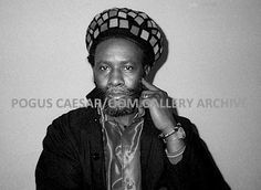 Burning Spear: Central Studios, Birmingham, UK. From the series 'Reggae Kinda Sweet.' 1985 Pogus Caesar/OOM Gallery Archive. All Rights Reserved