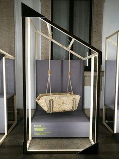 PAIDÌA | Culla a sospensione per infanzia [designed by: Carlotta Antonietti, Laura Tardella, Marzia Tolomei]