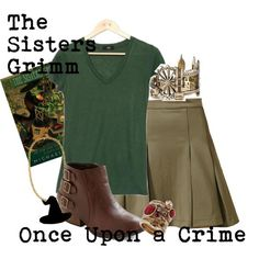 The Grimm Sisters: Once Upon a Crime by Michael Buckley