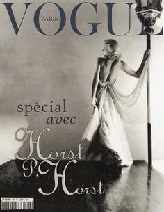 Horst P. Horst | Ginger Rogers, 1936, Vogue's Paris Studio, cover of Vogue Paris