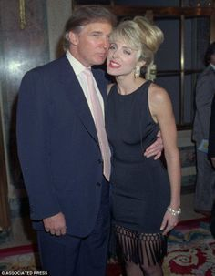 Marla Maples Advertisement Trump was actually dating Maples for a couple years while he was married to wife Ivana Trump. Ivana found out about the affair and confronted Maples on . John Trump, Donald Trump, Marla Maples, The First Wives Club, Ivana Trump, Dorothy Dandridge, Veronica Lake, Kim Basinger, Trophy Wife