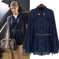 Find More Blouses & Shirts Information about Loose chiffon shirt Cardigan shawl cloak Sun dress length shirt,High Quality dress clothing for men,China dresses princess Suppliers, Cheap dress shirt sewing pattern from Sexy clothing care on Aliexpress.com