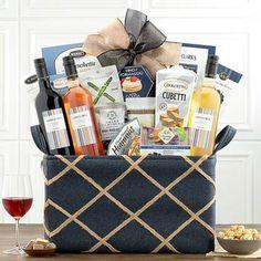 Wine Gift Baskets - Spanish Wine Gift Basket Walnut Cookies, Wafer Cookies, Wine Country Gift Baskets, Spanish Wine, Wine Gifts, Wines, Red Wine, Treats, Bottle