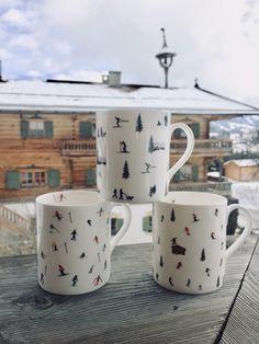 Powderhound Ski Mugs Gift Sets, Skiing, Mugs, Tableware, Gifts, Ski, Dinnerware, Cups, Tumbler