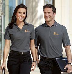 Como definir o uniforme ideal para a minha empresa - Ripio Uniformes Polo Shirt Outfits, Uniform Shirts, Work Uniforms, Men In Uniform, Uniform Ideas, Staff Uniforms, Sweater Outfits, Corporate Shirts, Corporate Uniforms