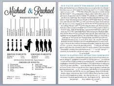 Printable PDF file Wedding Ceremony by TruerthanTrueInvites, $42.00