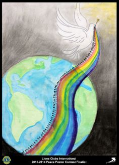 Finalist from Indiana, USA (Speedway Lions Club) - 2013-2014 Peace Poster Contest