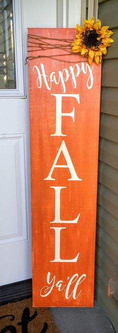 Holiday Reversible Porch Sign Hand Painted Wood Sign