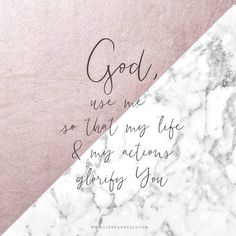 God use me to glorify you quote by Linen and Salt Lifetime Quotes, Wisdom Books, Use Me, Saved By Grace, Daily Prayer, Be Yourself Quotes, Picture Quotes, Inspire Me, Verses
