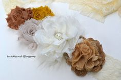Rustic, Burlap, Neutral Chiffon Flower Maternity Sash Belt - Pregnancy Photo Prop - Gender Neutral Ivory - It's A Boy Girl - Gold Tan Ivory Maternity Photo Props, Maternity Sash, Sash Belts, Chiffon Flowers, Pregnancy Photos, Gender Neutral, Burlap, Baby Kids, Ivory