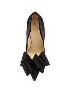 Kate Spade New York Lovely Satin Bow Pump