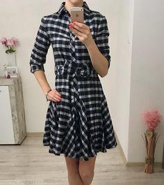 Kárované šaty čierne Wrap Dress, Dresses, Fashion, Vestidos, Moda, Fashion Styles, Dress, Fashion Illustrations, Gown