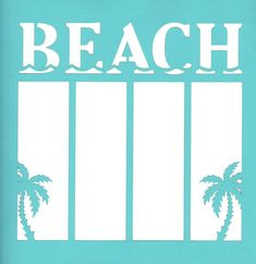 Beach is 15% off (with coupon code 15beach) today only, April 16th, 2012 EST!  This overlay is perfect for that last minute getaway!