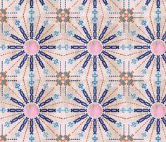 Mila Farmhouse beige custom fabric by schatzibrown for sale on Spoonflower