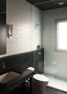 queen anne loft | bathroom detail ~ erich remash architect