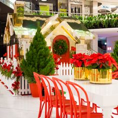 Event Designer and Stylist Jason James Design. Christmas gold gingerbread house pop styling and corporate event for Westfield. Wedding designer, birthday designer and visual merchandising  #jasonjamesdesign