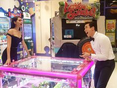 keaw_jungขอพักกับบรรยากาศวัยเด็กๆๆๆๆ5555 😂😂😂❤️ @urassayas #nadech #nadechactivity Thai Princess, Aesthetic Japan, Love Couple, Dan, Thailand, Tv Shows, Couples, Beautiful, Wedding