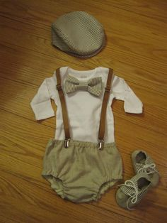 You choose the itemsBaby boy vintagevstyle outfit by BelinBoutique