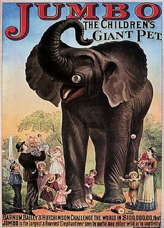 """Jumbo the Elephant graphic 