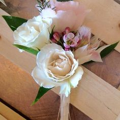 awesome vancouver florist Check out this beautiful #corsage perfect for #weddings #motherofthebride or #prom #roses #waxflower #blushingbride #summerwedding #florist #weddingflowers #granvilleisland  #vancouverflorist #vancouverflorist #vancouverwedding #vancouverweddingdosanddonts