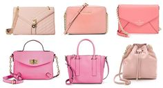 Date Night Accessories: 6 Pretty Pink Handbags Perfect for Spring #pin #bags #springfashion
