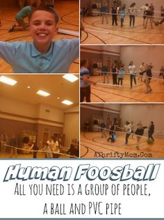 Human Foosball with