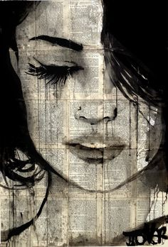 sometimes forever Drawing by Loui Jover Art Sketches, Art Drawings, Newspaper Art, Love Art, Art Inspo, Painting & Drawing, Amazing Art, Awesome, Saatchi Art