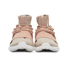 san francisco 02113 165a9 adidas Originals - Pink Tubular Doom PK Sneakers Adidas Originals Pink