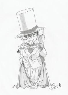 Conan Kaito Kid by Electra008