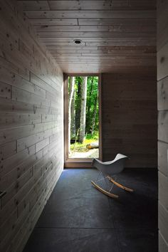 Gallery of Linear Cabin / Johnsen Schmaling Architects - 2