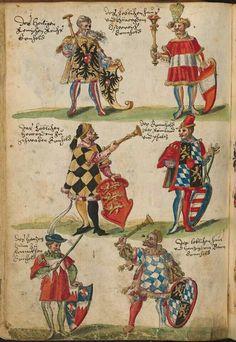 Book of Attire of the Court of Duke William IV and Albert V of Bavaria