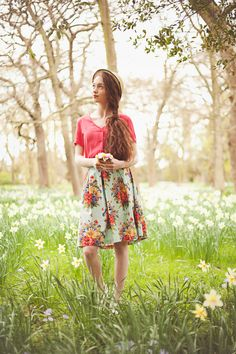 64e3c45ec4a99 Floral vintage style look from Circus Vintage Style Outfits