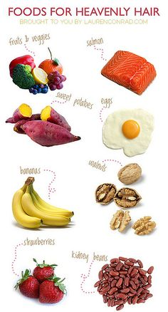 Tuesday Ten: Foods for Heavenly Hair