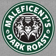 Maleficent Sleeping Beauty Dark Roast Coffee Disney Princess Starbucks Logo Cutting File in Svg, Eps, Dxf, and Jpeg for Cricut & Silhouette Arte Disney, Disney Love, Disney Pixar, Disney Bounding, Disney Family, Disney Stuff, Disney Starbucks, Starbucks Logo, Starbucks Coffee