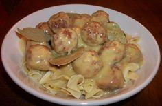 Crock Pot Meatballs and Gravy