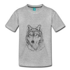 Wolf Pullover & Hoodies - Kinder Premium T-Shirt